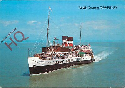 "Picture Postcard:-Paddle Steamer ""Waverley"""