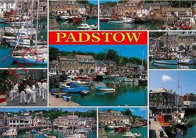 Picture Postcard-:Padstow (Multiview)