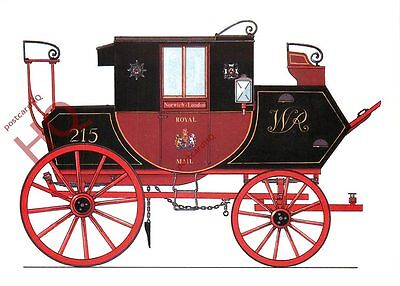 Picture Postcard-:Royal Mail Coach, Norwich / London