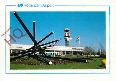 Picture Postcard-:ROTTERDAM AIRPORT