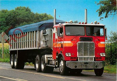 Picture Postcard:-Unknown Articulated Heavy Truck