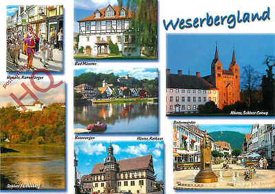 Picture Postcard-:Weserbergland (Multiview)