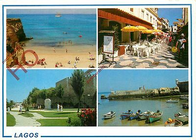 Picture Postcard; Algarve, Lagos (Multiview)