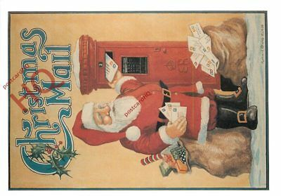 Picture Postcard; Christmas Mail [Richard Blake]