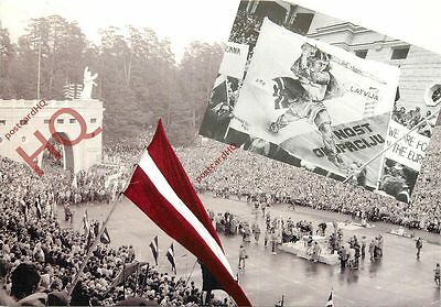 Picture Postcard~ Latvian Revolution, Protests 1988