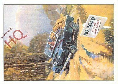 Picture Postcard~ LAND ROVER (REPRO)