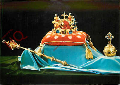 Picture Postcard~ CZECH CROWN JEWELS