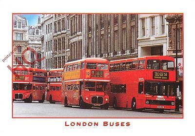 Picture Postcard~ London Buses