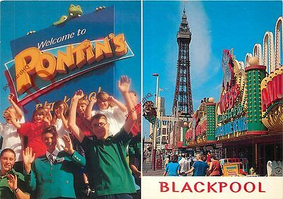 Picture Postcard~ Pontin's, Blackpool