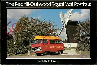 Picture Postcard~ Royal Mail, Postbuses, Redhill-Outwood