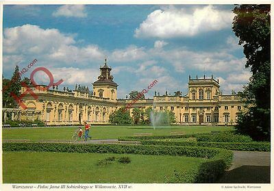 Picture Postcard, Warsaw, Wilanow Palace
