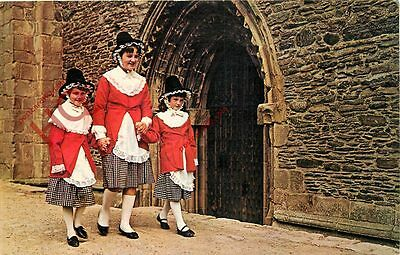 Picture Postcard, Welsh National Costume
