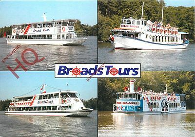 Picture Postcard: BROADS TOURS (MULTIVIEW)