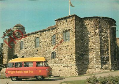 Picture Postcard: Colchester Post Bus, Colchester Castle