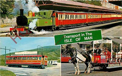 Picture Postcard: Isle Of Man, Transport [Bamforth]