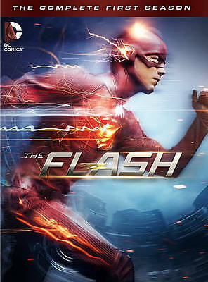 NEW The Flash: The Complete First Season (DVD, 2015, 5-Disc set)  Free Shipping!