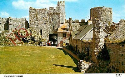 Picture Postcard: Manorbier, Castle [Archway]