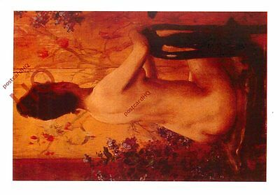 Picture Postcard- Wiles, Seated Nude