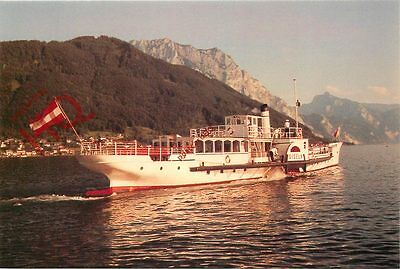 Picture Postcard: PADDLE STEAMER GISELA