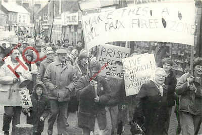 Picture Postcard: Poll Tax Protests