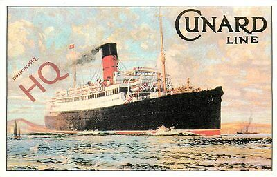 Picture Postcard, CUNARD LINE (REPRO)