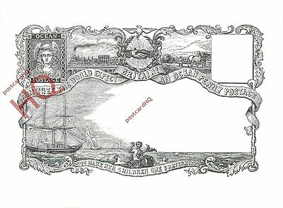 Picture Postcard, Ocean Penny Postage