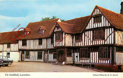 Picture Postcard, Lavenham, The Guildhall
