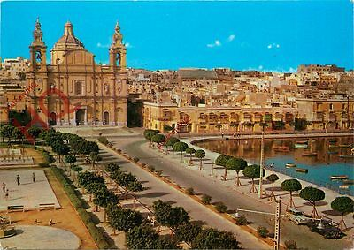 Picture Postcard, Malta, Msida, Church