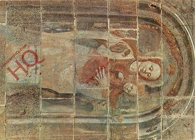 Picture Postcard, Ribe Cathedral, Fresco