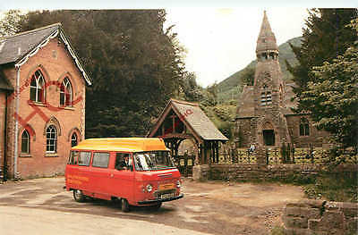 Picture Postcard, Royal Mail, Llandrindod Wells Postbus