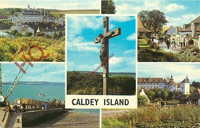 Picture Postcard:;Caldey Island (Multiview)