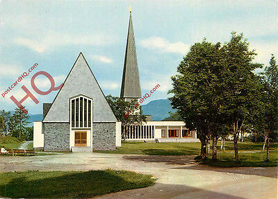 Picture Postcard:;Harstad, The Church