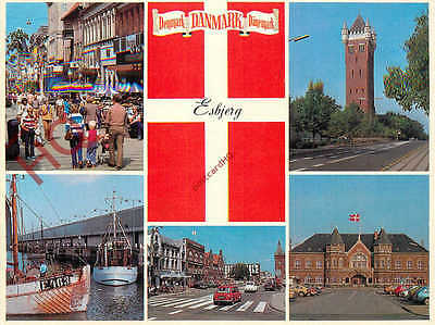 Picture Postcard:;Esbjerg, Denmark (Multiview)