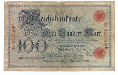 Germany 100 mark 1903 P-22 (B120)