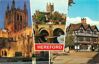 Picture Postcard; Hereford (Multiview) [Dennis]