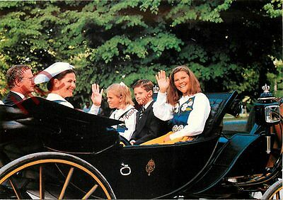 Picture Postcard; SWEDEN ROYAL FAMILY