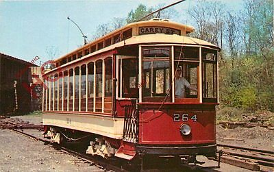 Picture Postcard~ BALTIMORE STREETCAR MUSEUM, NO. 264