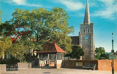 Picture Postcard; Minster, St Mary's Church