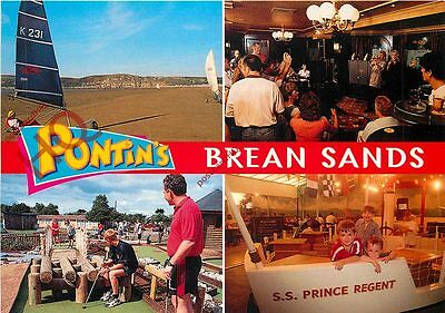 Picture Postcard; Pontin's, Brean Sands (Multiview)