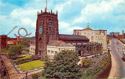 Picture Postcard~ BRADFORD, THE CATHEDRAL