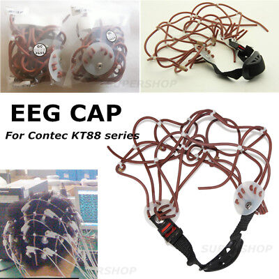Standard 10-20 Adjustable Rubber EEG cap For CONTEC EEG machine KT88
