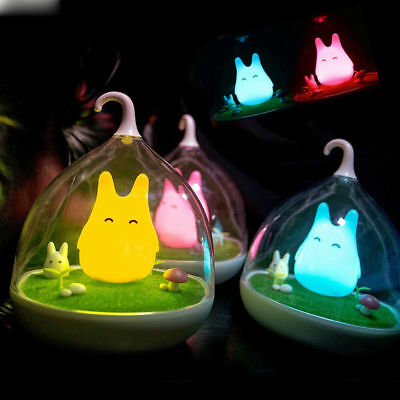 LED Baby Wall Night Light Lamp Portable Cute Smart Touch Sensor USB Charging US