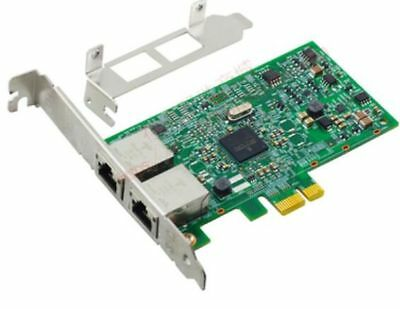 Broadcom Dual Port Gigabit Server PCIe Network Card VMware,ESX w/LP Pow Profile