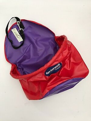 Horse Feed Bag Collapsible Vinyl with Clip