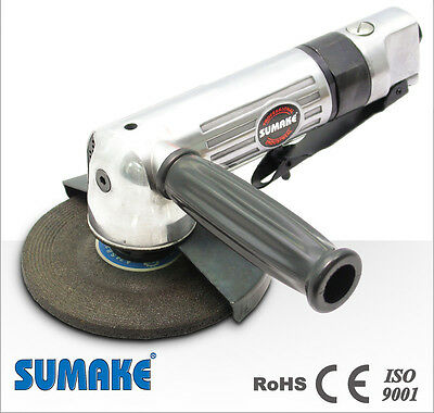 "Sumake Air Angle Grinder Japan Trade Quality Tools Pneumatic 4"" Ce Iso Special"