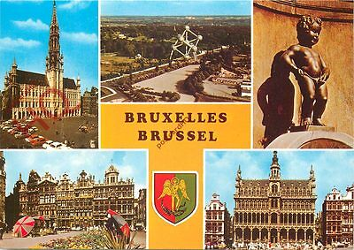 Picture Postcard--Brussels (Multiview)