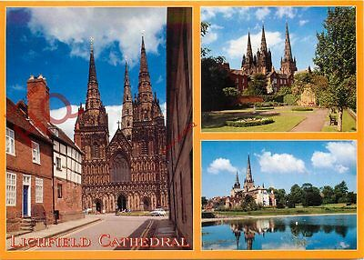 Picture Postcard--Lichfield Cathedral (Multiview)