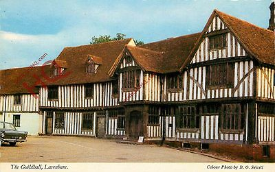 Picture Postcard--Lavenham, The Guildhall