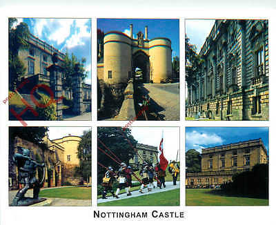 Picture Postcard--Nottingham Castle (Multiview)