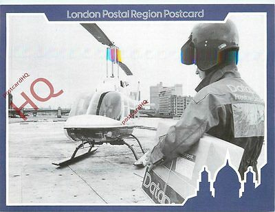 Picture Postcard--Royal Mail Datapost, Helicopter